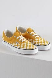 Authentic Yellow Checkerboard