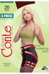 מכנס גרביון מחטב Five modeling belts DEN 20